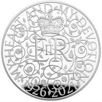 5オンス銀貨 2021年 イギリス エリザベス女王 クイーン 生誕95周年記念 プルーフシルバーコイン 95TH BIRTHDAY OF THE QUEEN