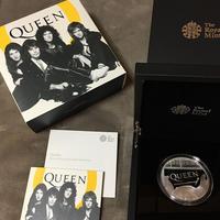 ミュージック レジェンド クイーン 5オンス銀貨 10ポンド プルーフコイン Music Legends Queen £10 英国 ロイヤルミント Royal Mint