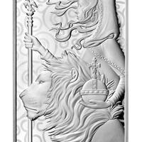 【10オンス・シルバーバー】2021 ロイヤルミント ウナとライオン 10oz 銀棒 銀の延べ板  インゴット 英国 イギリス Royal Mint Una Lion