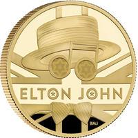 【※230万円予定 お問い合わせ下さい】 エルトン・ジョン 2オンス金貨 200ポンド プルーフコイン ゴールド 2020年 英国 イギリス ロイヤルミント ELTON JOHN Royal Mint