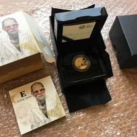 2020年 ロイヤルミント 伝説のミュージシャンシリーズ エルトン・ジョン 1/4オンス 25ポンド金貨 プルーフコイン 箱ケースあり ELTON JOHN