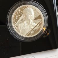 デビッドボウイ 2オンス 5ポンド銀貨 シルバープルーフコイン 2020年 英国 イギリス ロイヤルミント ミュージック David Bowie Royal Mint