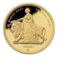 ※12月下旬発送予定 ウナとライオン 2021年 セントヘレナ マスターピース 2オンス 金貨 ゴールド プルーフコイン 発行125枚