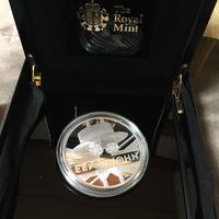 【限定425枚】エルトンジョン 5オンス 10ポンド銀貨 プルーフコイン シルバー 2020年 ロイヤルミント 英国 イギリス royal mint elton john