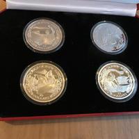 【新品】オリンピック コイン 2000組限定 10ドル 4枚セット 銀貨 イギリス領ヴァージン諸島 BVI Olympic