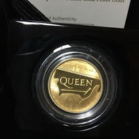 QUEEN クイーン 1/4オンス 25ポンド金貨 プルーフコイン ゴールド ロイヤルミント イギリス 英国 レジェンズ ミュージックレジェンド