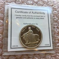 【10枚セット】ウナとライオン コイン 2019 イギリス領 ヴァージン諸島 ニッケル 硬貨 英国 BVI nickel
