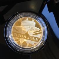 エルトン・ジョン 1オンス金貨 100ポンド プルーフコイン ゴールド 2020年 英国 ロイヤルミント ELTON JOHN Royal Mint
