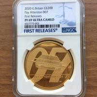 【NGC・PF69UC】第2貨 2オンス金貨 007 ジェームズ・ボンド 200ポンド金貨 プルーフコイン ゴールド 2020年 英国 ロイヤルミント James Bond Royal Mint