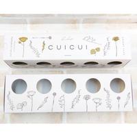【化粧箱】CUI CUI / レアチーズ10個用BOX