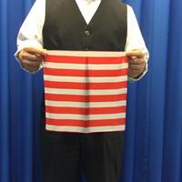 紅白縞シルク(30cm角)