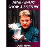 DVD ヘンリー・エヴァンス ショー&レクチャー