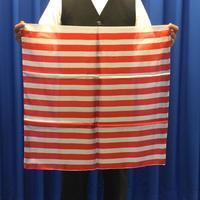 紅白縞シルク(60cm角)