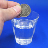 溶けるコイン