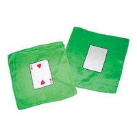 20cm角カードシルク(緑ベース)+ブランク