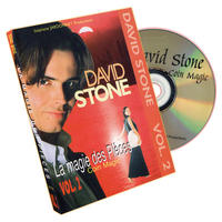 DVD デビッド・ストーン コインマジック2巻セット