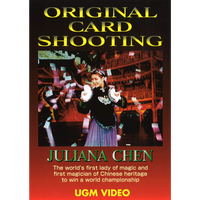 DVD ジュリアナ・チェン オリジナル・カード・シューティング