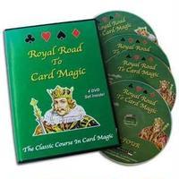 DVD ロイヤルロード to カードマジック4巻セット