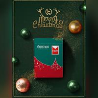 クリスマスデック(緑) byTCC