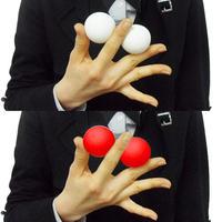 スプリットシリコンボール赤白セット(45mm/1.7インチ)