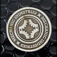 メカニックインダストリーコイン(ガンメタルグレイ)ワンダラーダイス