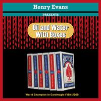 オイル&ウォーターwithボックス byHenry Evans