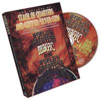 DVD スタックオブクォーターズ&カッパー、シルバーコイン