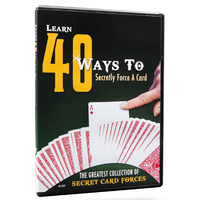 DVD 40 Ways to Force a Card
