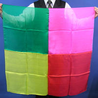四色シルク(90cm角)