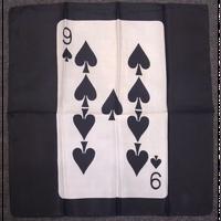 45cm角カードシルク(黒ベース)