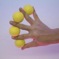 マニピュレーションゴルフボール