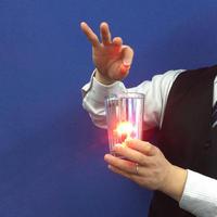 LEDミラーグラス by溝口直隆