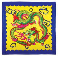 ドラゴンシルク(30cm角)黄