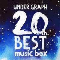 CD「UNDER GRAPH 20th BEST music box」(オルゴール)