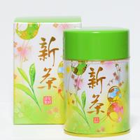 【6月末まで期間限定 新茶】  新茶 80g  缶入り