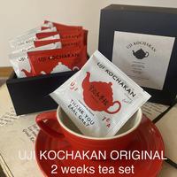 【NEW!】2 weeks tea set (14tea bags )