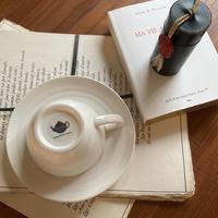 宇治紅茶館オリジナルカップアンドソーサー 1客
