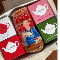 ① 宇治紅茶館オリジナルパッケージ 紅茶セット
