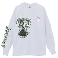 THE_SHINING_BEAR_Long Sleeve Tee / WHITE