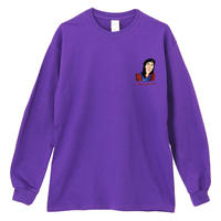 THE_SHINING_MOM&SPECIALDAY_Long Sleeve Tee / PURPLE