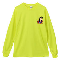 THE_SHINING_MOM&SPECIALDAY_Long Sleeve Tee / SAFETY GREEN