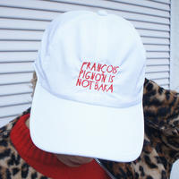 FRANÇOIS PIGNON IS NOT BAKA_nylon  cap_WHITE