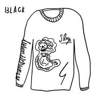 THE SHINING BEAR  L/S TEE <BLACK>