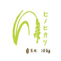 自然栽培米 ヒノヒカリ 玄米10kg 2019年度産