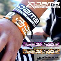 【GOODS】Jam9 TOUR2019-2020「REACTED」シリコンブレスレット