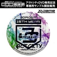 【GOODS】Jam9  バッジ(2018-2019 TOUR FINAL GOODS)