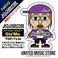 【GOODS】Jam9デビュー10周年記念キーホルダー(Giz'Mo)