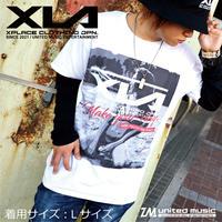 【GOODS】XLA  MONOTONE BEACH  Tシャツ