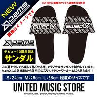 【GOODS】Jam9デビュー10周年記念サンダル(ブラック)