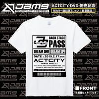 【GOODS】Jam9 ACTCITY LIVE DVD発売記念 復刻版Tシャツ